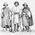 Indigeni al seguito delle truppe francesi in Senegal, 1890