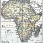 L'Africa dopo la conferenza di Berlino, in giallo le aree non ancora colonizzate